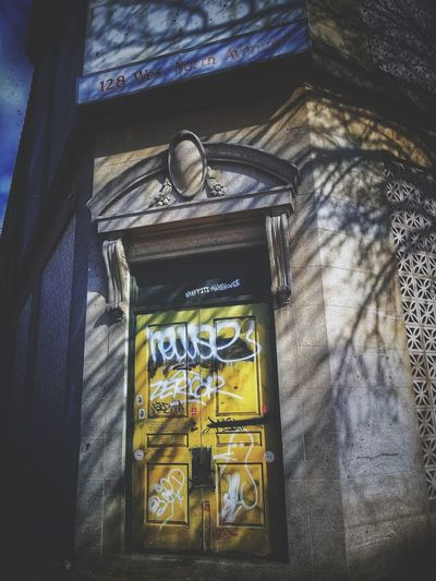 Tales From The Crypt. . . . Abandoned Buildings Creepy Abandoned Places Abandoned & Derelict Graffiti Streetart/graffiti AMPt - Street AMPt - Abandon Urbanphotography Baltimore EyeEm Diversity Brick Building Streetphotography AMPt - My Perspective Facades Doors Façade Walking Around The City  Urban Landscape Urbexphotography Window Architecture Built Structure Close-up Building Run-down Abandoned Exterior Deterioration Damaged