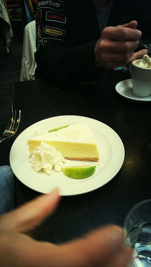 citrus cheesecake! Eating Food Starving At The Lookout