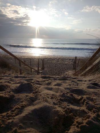 Beach Nature No People Plage 🌴 Mer Soleil☀️ Vendée Fevrier 2017 Bretignolles Sur Mer Beachphotography Long Goodbye Beauty In Nature Eyeem Market Photography Paysage De France The Great Outdoors - 2017 EyeEm Awards
