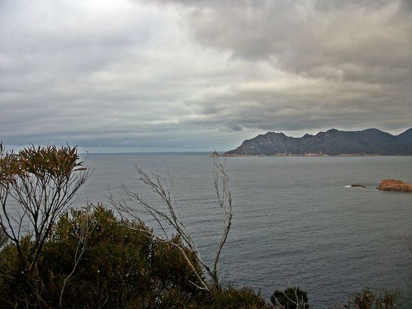 Freycinet NP, Coles Bay Beauty In Nature Cloud - Sky Day Freycinet National Park Horizon Over Water Idyllic Mountain Nature No People Outdoors Scenics Sea Sky Tasmania Tranquil Scene Tranquility Water