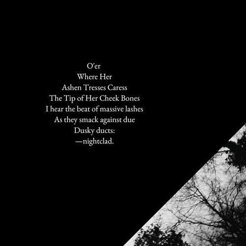 Visual Poetry Writing Occult Irish Writer Poet Dark Sex Magick Beauty