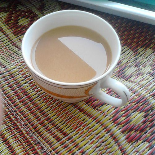 Chai at Nani's :D Morningtea