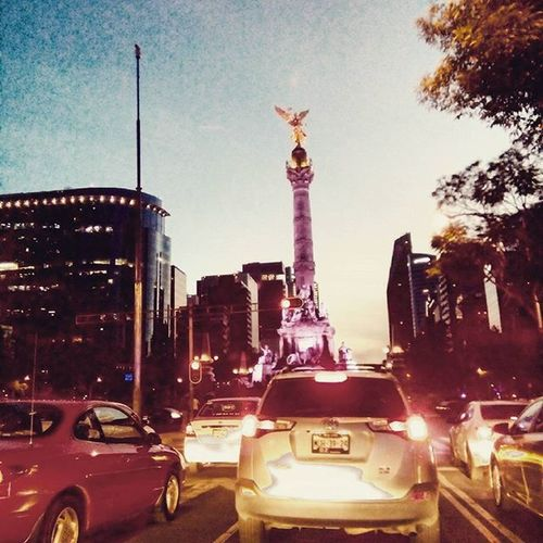 UnaVueltaAlAngel Reforma Cdmx