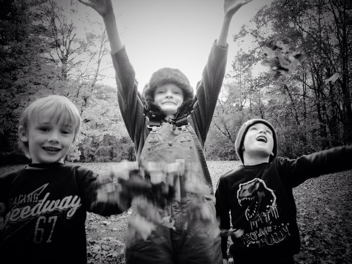 The EyeEm Facebook Cover Challenge Blackandwhite children Nature IPhoneography