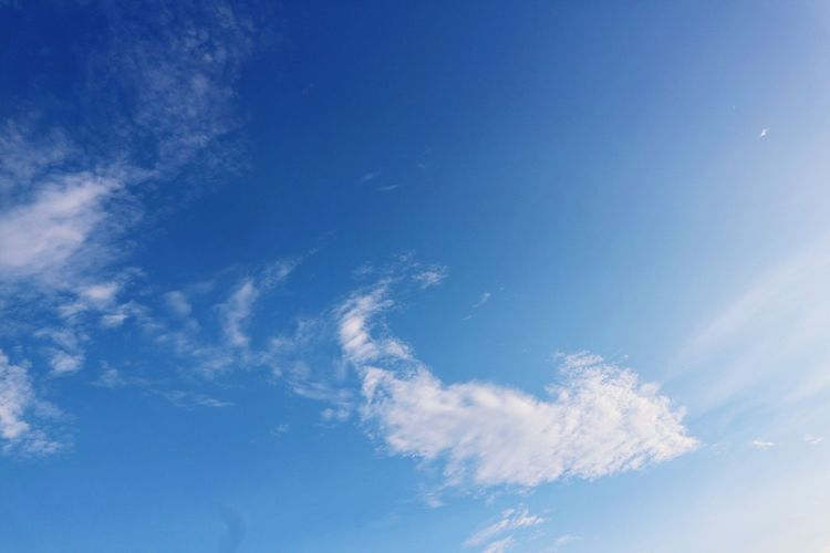 Blue Sky Nature Beauty In Nature Low Angle View Backgrounds Sky Only Cloud - Sky No People Tranquility Day Scenics Full Frame Outdoors