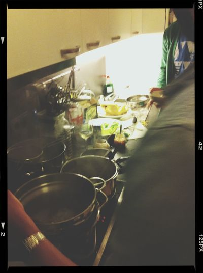 Rocky Is Cooking