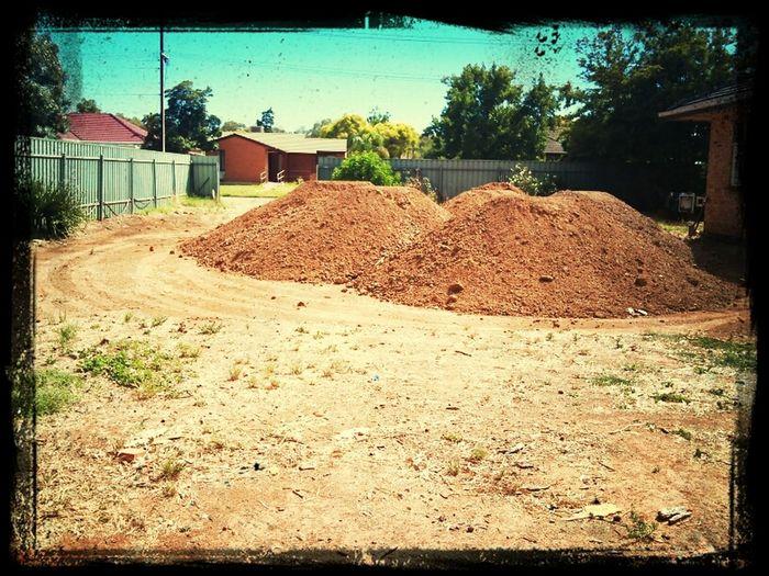 Soil Dumped