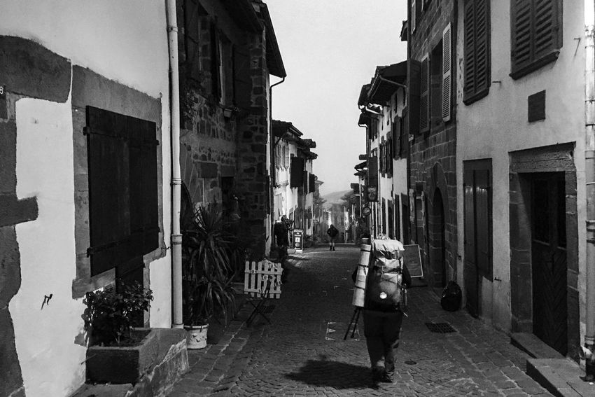 31/09/2016 last friday - The Camino has begun, early morning in Saint Jean Pied de Port, France... first day a 25.7 km Between SJPdePort to Roncesvalles Spain! I am in Spain working on my Documental Photography Project called Faces and Places of the Camino, it is a Photographer's journey thru the Camino de Santiago, in North Spain and France. While doing the Camino I will be posting my cell phone photos and after finishing the Camino I will post my Cameras Photos! Keep Walking... Pilgrimage Streetphotography Documentary Photography Facesandplacesofthecamino The Way Forward Caminodesantiagopage Theway CaminodeSantiago Camino De Santiago Jakobsweg Camino Saint Jean Pied De Port France Monochrome Photography