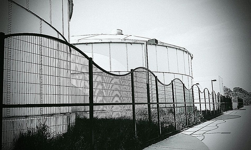 Outdoors No People City Photography Taking Photos My Passion Creativity Fence Wire Fence Day Black & White