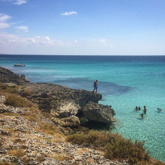 Seaside Seaview Bluesea Bythesea Blue Blue Sky View Summer Summer ☀ Swimming Pool Swimmingpool Nature Natural Italy Italia Italy❤️ Holiday Paradise Landscape Travelling Salento Salentoesoncontento Torrelapillo