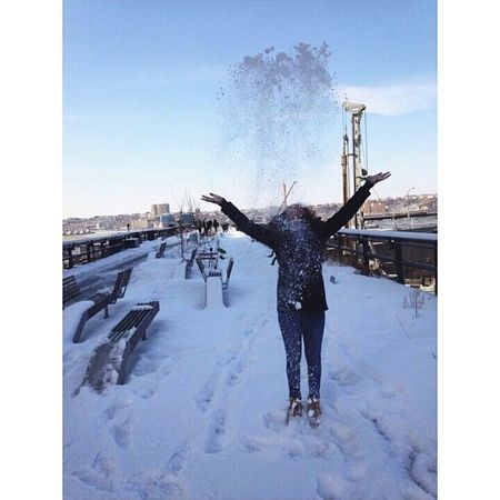 Snow ❤?❄⛄ NYC CentralPark Follow Me On ınstagram ! #follow #follow #follow Selfportrait Sexygirl Today's Hot Look Hot Snow Newyork Hanging Out i