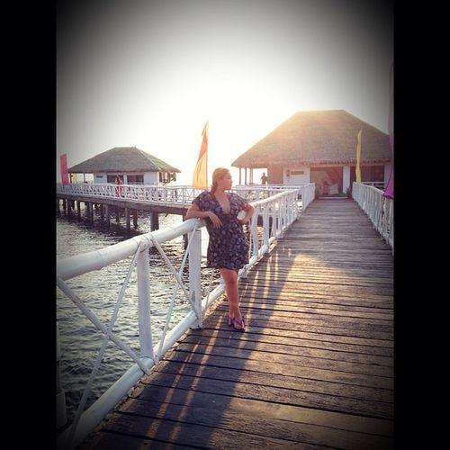 Semiflashback Stilts Beach Summer