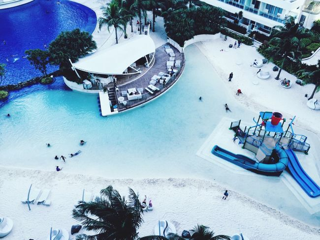 A Bird's Eye View High Angle View Vacations Man-made Structure Man-made Beach Water Built Structure