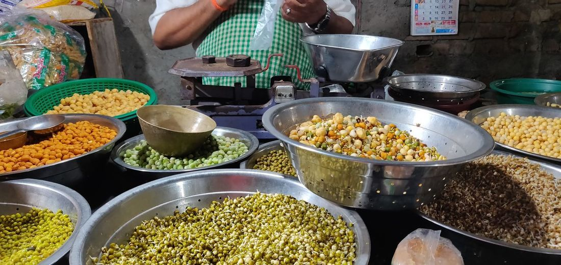 Legume Family Market Choice Variation Vegetable Retail  Market Stall Spice Business Finance And Industry Food And Drink