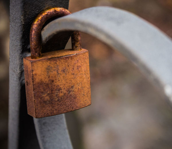 Brücke, Love Lock, Liebesschloss Rost, Liebe Rostet Close-up Day Focus On Foreground Lock Metal Outdoors Padlock Rusty Security