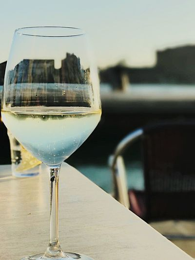Glass of life Wineglass Drink Prosecco Italiandoitbetter Italy❤️ Sunset Perfectwine Venice Venicelife Life Lifeisbeautiful