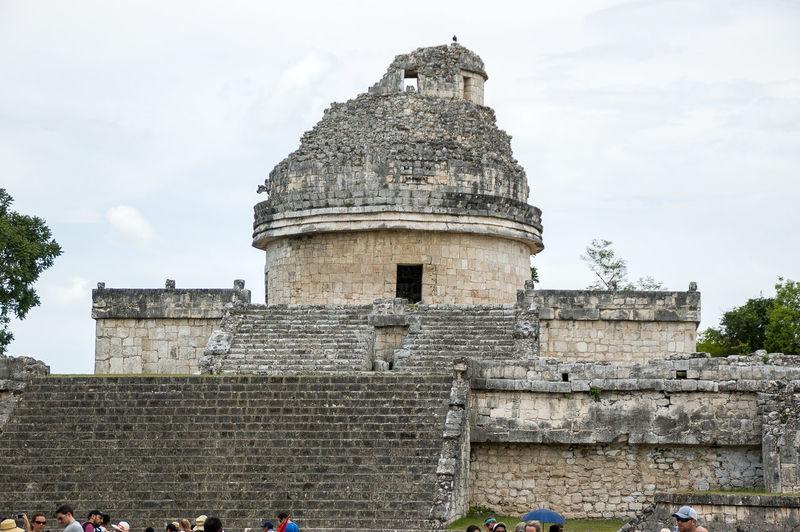 Chichen Itza Yucatan Mexico 7th Wonder Of World Mayan Ruins Wonder Of The World Yúcatan Observatory