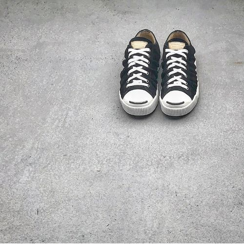 VISVIM Visvim Shoe Pair Still Life High Angle View Canvas Shoe Two Objects No People
