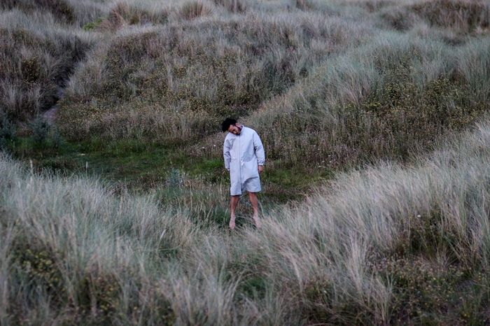 3/5 - Ether 👽 Elements Fiveelements Ether Futuristic Alien Outdoors Fashion Sand Dune Dublin Ireland Fashion Photography Fashion Forever