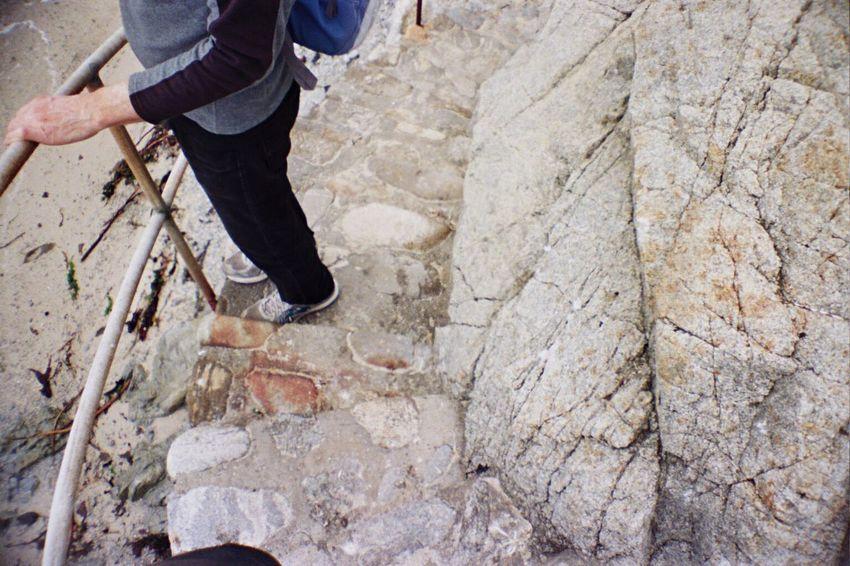 Film Koduckgirl Carmel Highlands La Sardina One Person Rock - Object Portra800 Outdoors