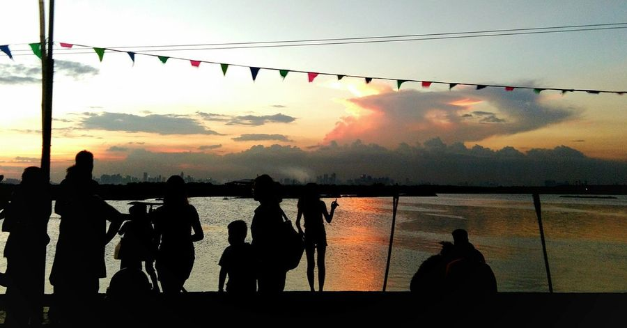 Angono Lake Side Silhouette Sunset Sky Outdoors Nature Large Group Of People Water People Adult Day Beauty In Nature Angonorizal Angono, Rizal, Philippines Rizal, Philippines Lake Lake View Lakeside Nature Beauty In Nature Reflection Angono Philippines Celebration Hanging Adults Only EyeEmNewHere Summer Exploratorium