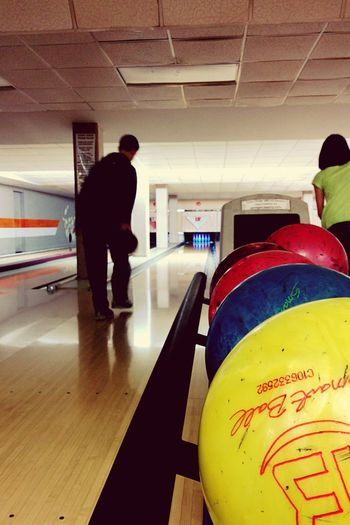 The Places I've Been Today Bowling College Fun Life
