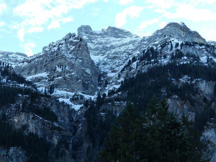 Kanton Luzern Berge Felsen Nature Natur Sehenswert Felsen Alpen Alpenwelt Engelberg Eis Schnee Heikobo Luzern Schweiz Januar2014 Alpen
