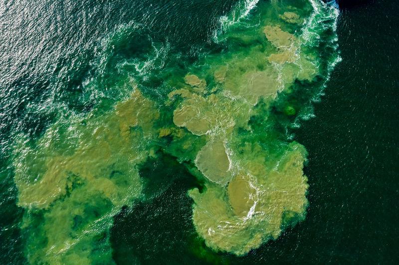 Full frame shot of sea