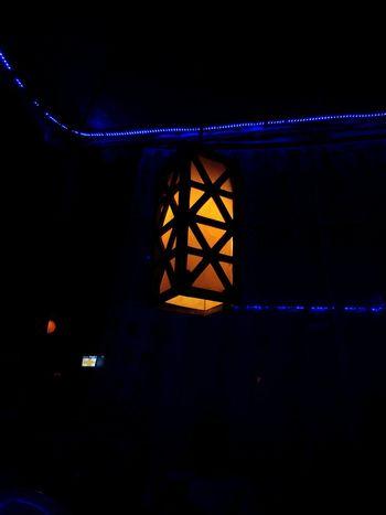 Night Bridge - Man Made Structure Illuminated Connection Built Structure Suspension Bridge Architecture