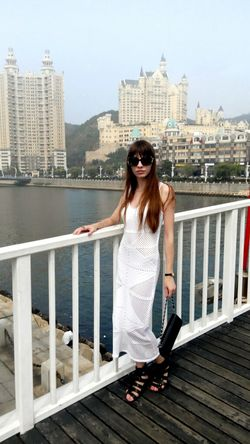 China, Dalian In Dalian Dalian City Travelling Beautiful View China ASIA Xinghai People Beautiful Girl Ladyinwhite Stylish