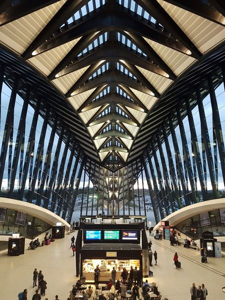 Aéroport Aeroport Lyon Stexupery Travel Comeback Indoors  Built Structure Architecture