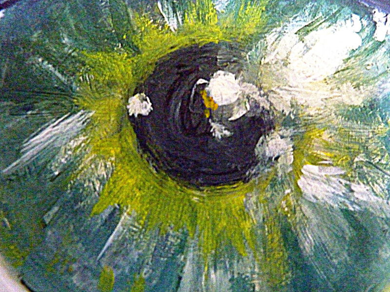 Close-up Day Eye Iris No People Oil Painting Outdoors Textured