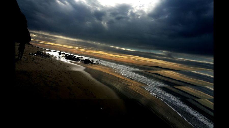 Moorning walk at beach...