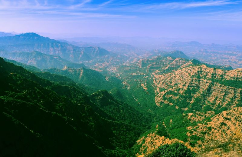 Amazing Mountains #HighLife Scenics - Nature Mountain Landscape Beauty In Nature Environment Tranquil Scene Tranquility Mountain Range Green Color Non-urban Scene Land Nature Idyllic Sky Tree Aerial View Plant No People Day Agriculture Outdoors Mountain Peak
