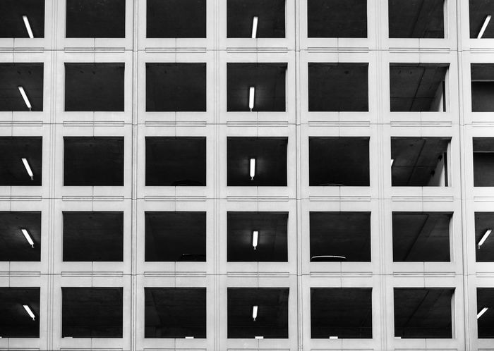 Full Frame Backgrounds Pattern No People Close-up Architecture Day Blackandwhite Black And White Black & White Blackandwhite Photography Black&white Blackandwhitephotography Black And White Photography Parking Garage Geometric Architecture Geometric Simplicity Simple Photography Eyeemphotography EyeEmbestshots EyeEm Best Shots Eyemphotography Minimalist Architecture Minimalism The Week On EyeEm