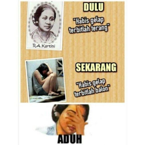 Selamat hari kartini ;) Harikartini Kartinidays Memecomic