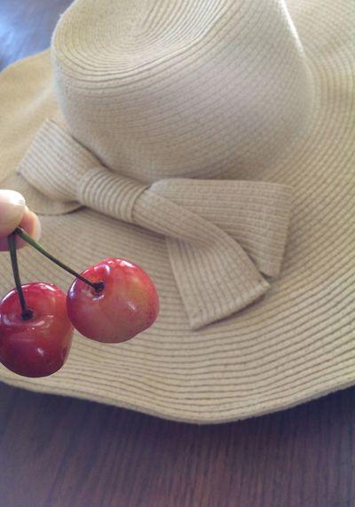 Cheerful Ranier Cherry Summer Hat Cherries🍒