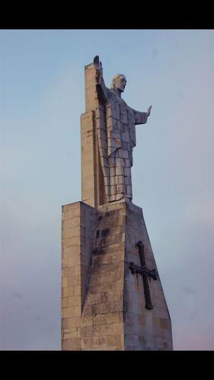 Cristo Human Representation Statue Sculpture History Religion No People Day