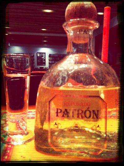 It's tequila time!