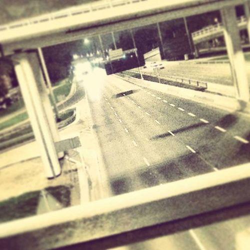 Street Warsaw Nightcity Night Photooftheday Photo Photo Light Cars Bridge L4l Fotos F4F