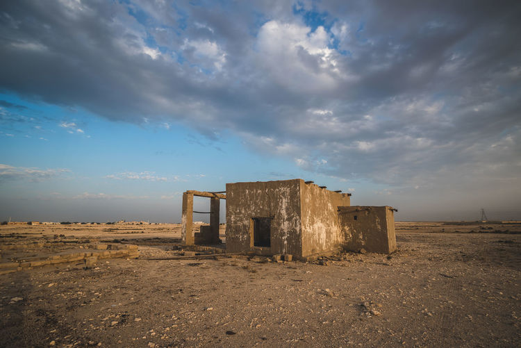 Sky Cloud - Sky Architecture Abandoned Built Structure Damaged Nature Old Land No People Day Obsolete History Building Exterior Run-down Outdoors Building Ruined The Past Environment Deterioration Demolished