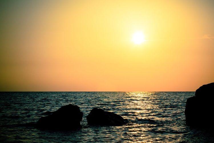 Sun Sea Sunset Eye Em Nature Lover