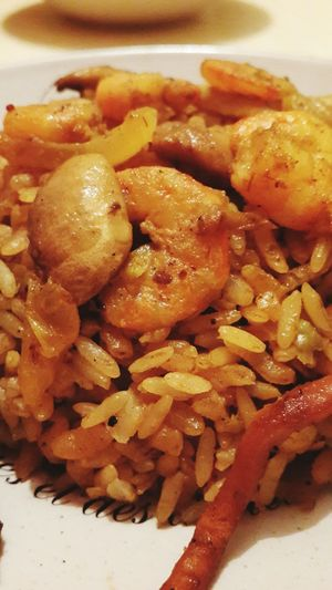 Risotto Riz Rize Food Seafood Tunisie