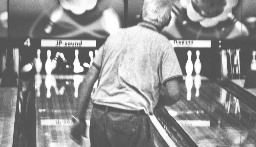 Monochrome Bowling Time Scenery Shots