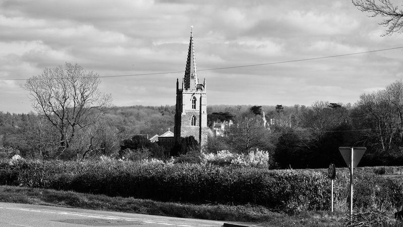 Taking Photos Harlaxton Church Landscape Nikon D5500