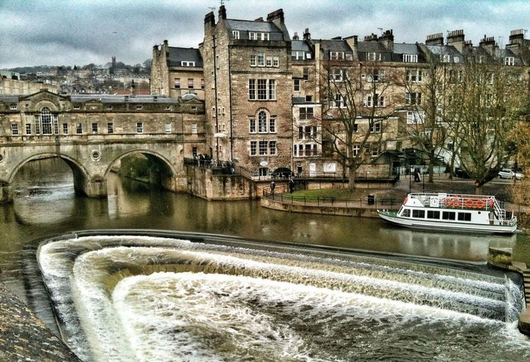 A wet day in Bath