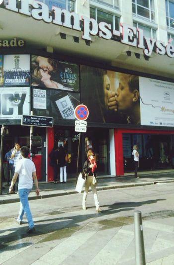 Gaumont Cinema In Champs-Élysées