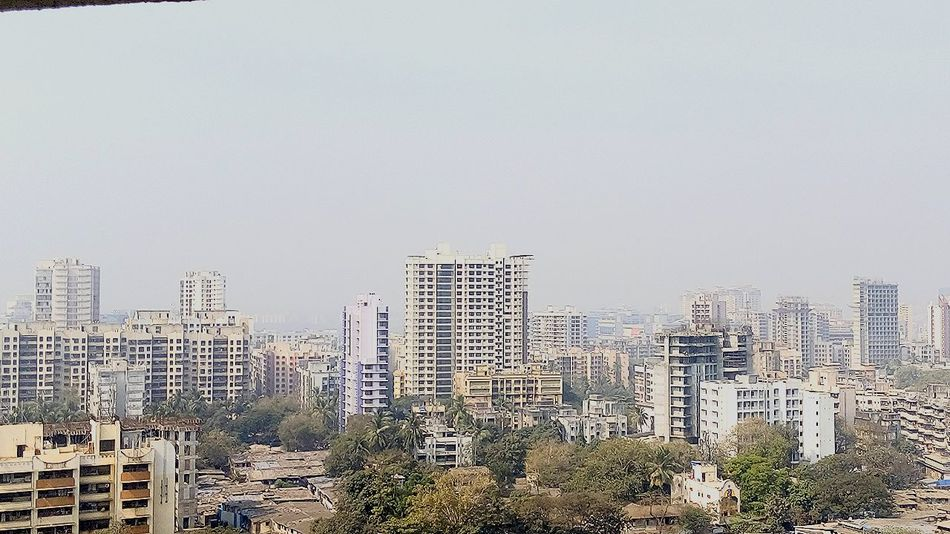 City Cityscape Tower Modern City Life Resedential Building Apartment Buildings Mumbai Capital City