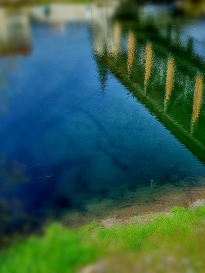 What's in the water stays in the water. Therefore the oceans are full of reflections. Reflection Reflctions Water