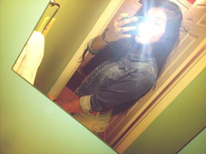 Typical Mirror Picture.